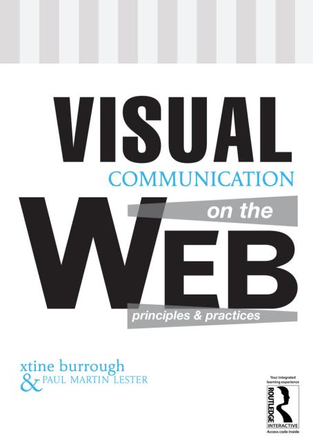Cover image for the book, Visual Communication on the Web