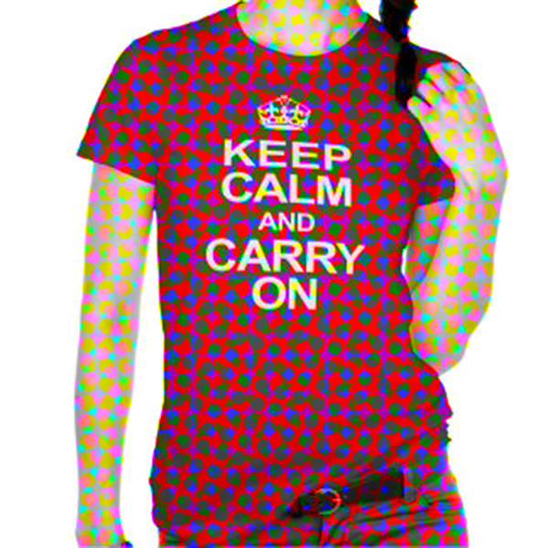 keep calm and carry on in pixels